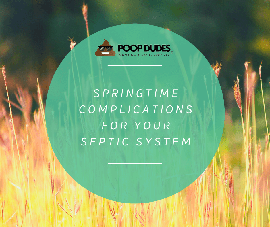Septic field lines, Springtime Complications for Your Septic System